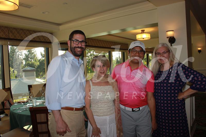 Rabbi Joshua Grater, Pamela Chester, Richard Cheung and Denise Wadsworth
