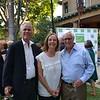 Bruce McIntosh with Sue and Pat Wickhem