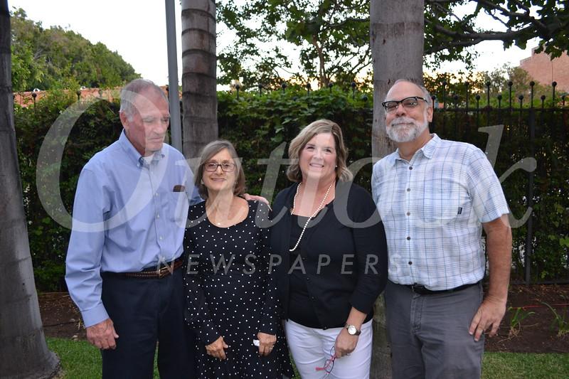 Steve Freeburg, Maria Tornek, Pam Thyret and Mark Rice