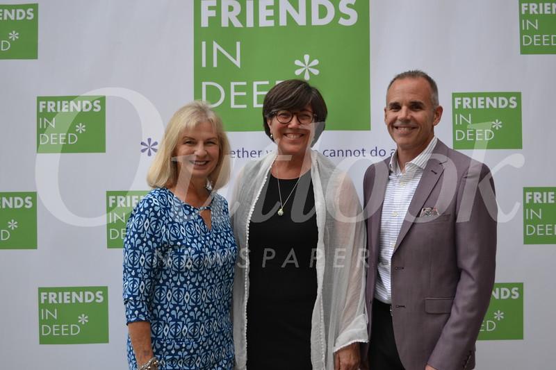 Rhonda Stone, Carri Patterson Grindon and Martin Burnham
