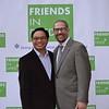 Richard Cheung and Rabbi Josh Levine Grater