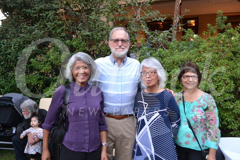 Mumu Aung, John Zoraster, Margaret Leong Checca and Susan Apranamian