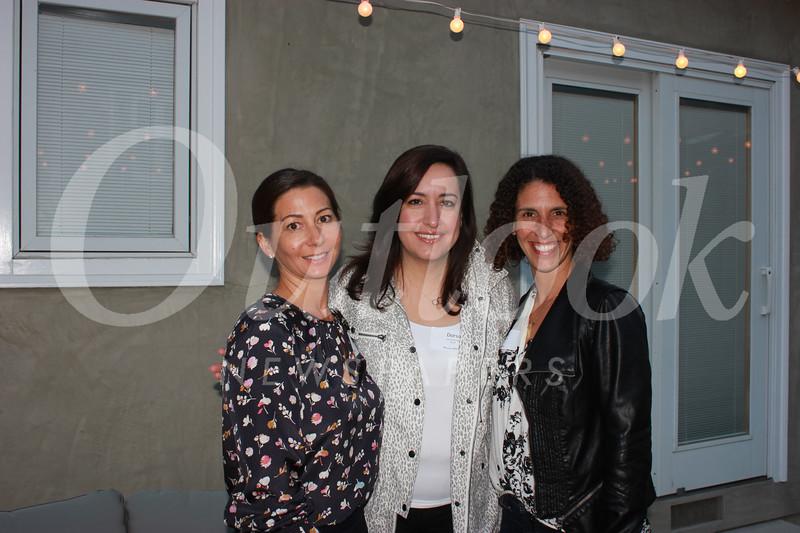 Nobu Junge, Dorsa Maryska and Nicole Schneider