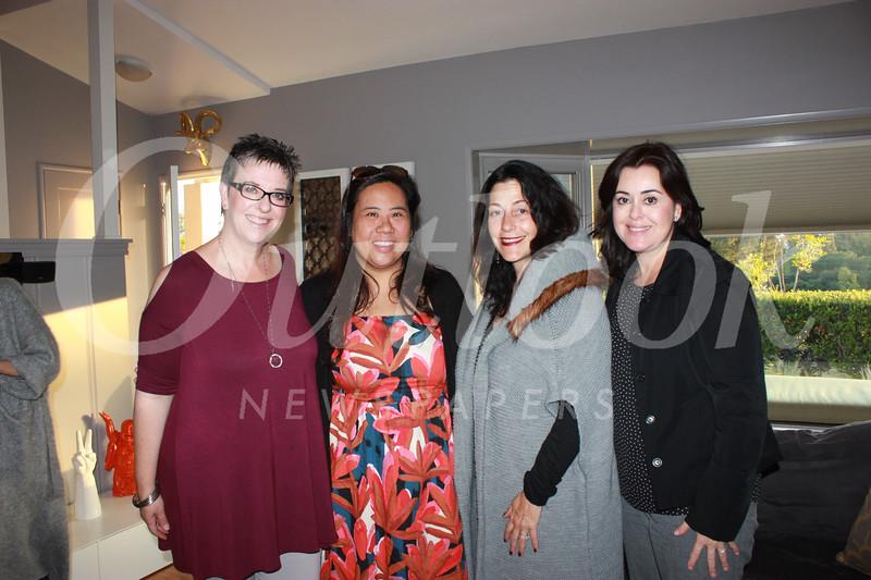 Rochelle Siegrist, Janet Malt, Gina Ammon and Michelle Guerra