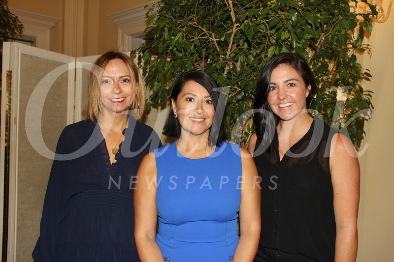 Christine Tarr, Christine Escobar and Dani Perry