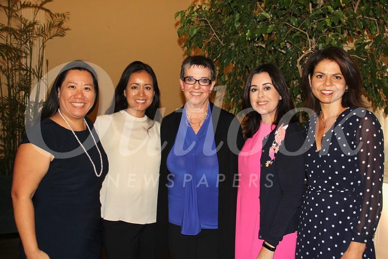 Melissa Wu, Tina De La Torre, Rochelle Siegrist, Michelle Guerra and Lora Unger