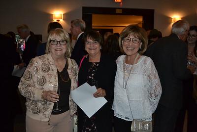 Linda Hansen, Barbara Falconer and Nancy Hogg