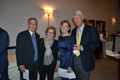 Jim and Jean Keatley with Lucy and Don Crumrine