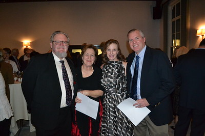 Timothy Rutt, Mary Herman, and Megan and Michael Browne
