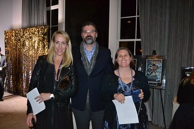 Sonya Corbett with Chris and Jennifer Thayer