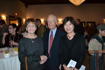 Susan and Bill Wofford with Yuki Jimbo