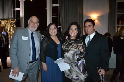 Jose and Gloria Annicchiarico with Sophia and Luis Acosta