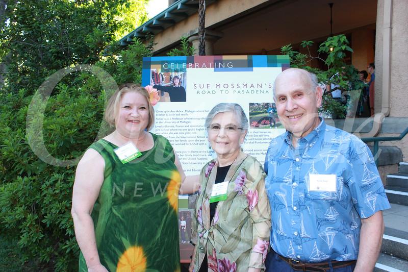 Cathy Hany, Mic Hansen and Arnie Siegel