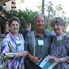 Donna and Jerry Secundy with Claire Bogaard