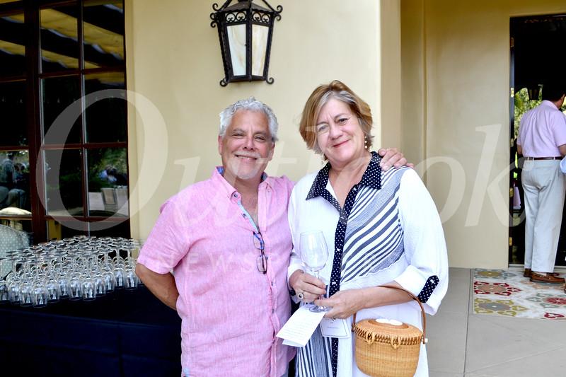 Claude Beltran and Pam Warner