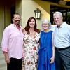 Hosts Jim and Chelisa Vagim with PCDA Executive Director Diane Cullinane and her husband, Bill Cullinane.
