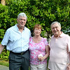 Bill Cullinane with Paula and Rich Morrell