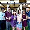Jenny Lee, Luke Chou, Penny Chen, Ella Huang, Eunice Chin and Larry Lin
