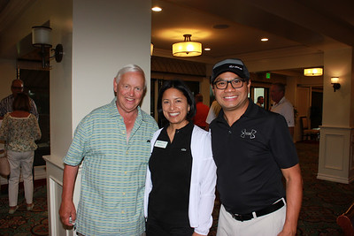 Pat Wickhem, Sonya Perry and Richard Cheung