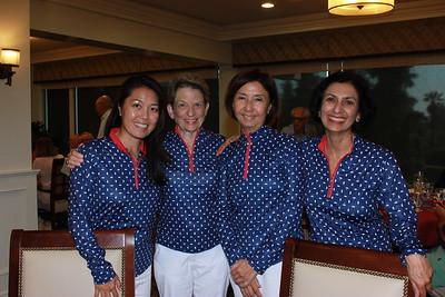 Jennifer Chuang, Judy Gain, Belinda Zen and Premi Thomas