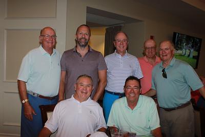 Kermit Hillseth (front row, from left) and Joe Jackson. Back: Rick Harrison, Steve Jackson Jr., Steve Jackson, Phil Cannon and Bob Harrison.