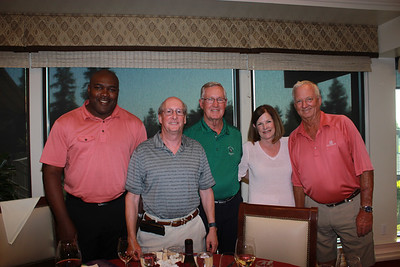Ricky Parker, Lewis Hofstein, Jim Brewer, Claire Brewer and Richard Smith