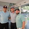 Ricky Romero, Cesar Ramos and Matt Shupper