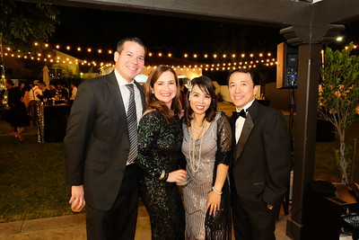 David and Yvonne Barba with Angela and Veling Tsai