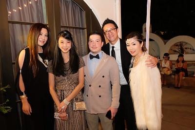 Sylvia Koh, Yen Yen Sun, Chris Rehfeldt, Andy Chang and Joyce Wang