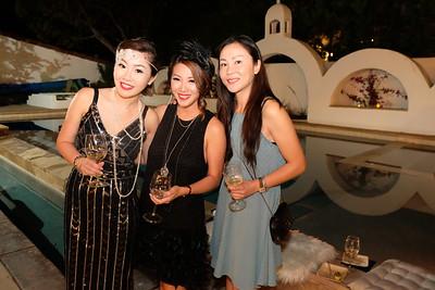Joyce Wang, Eve Lin and May Liu