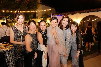 Linlin Wang, Jennifer Lee, Jana Seng, Emilie Cheng, Sandra Wu and Angela Tsai