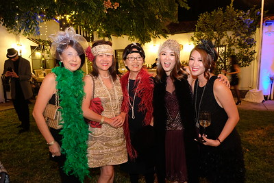 Janette Ho, Janette Lau, Nancy Young, Ling Dong Chen and Eve Lin