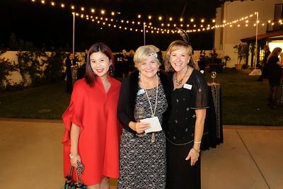 Michelle Wong, Elizabeth House Executive Director Debbie Unruh and Kristen Michelson