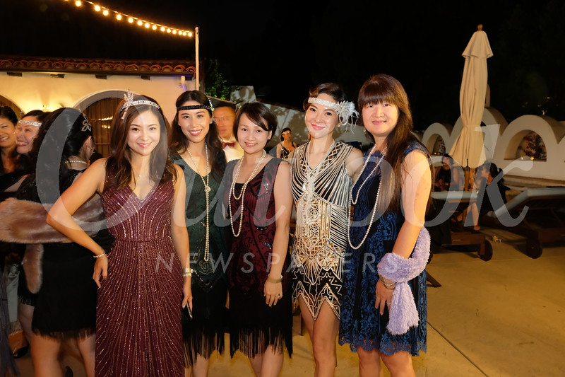 Tiffany Lu, Lina Wu, Joyce Lin, Peggy Chen and Lisa Wang