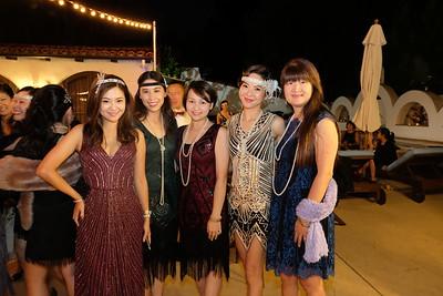 Tiffany Lu, Lina Wu, Joyce Lin, Peggy Chen and Lisa Wang