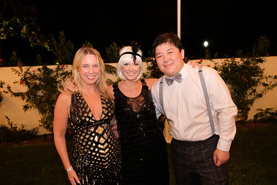 Molly Stephens, Emily Stephens and Simon Chen