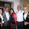 Theresa Chavez, Oscar Garza, Sandra Tsing Loh, Brian Brophy and Frier McCollister