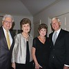 Dr. Jim Femino and his wife, Sue, with Ann and George Leal