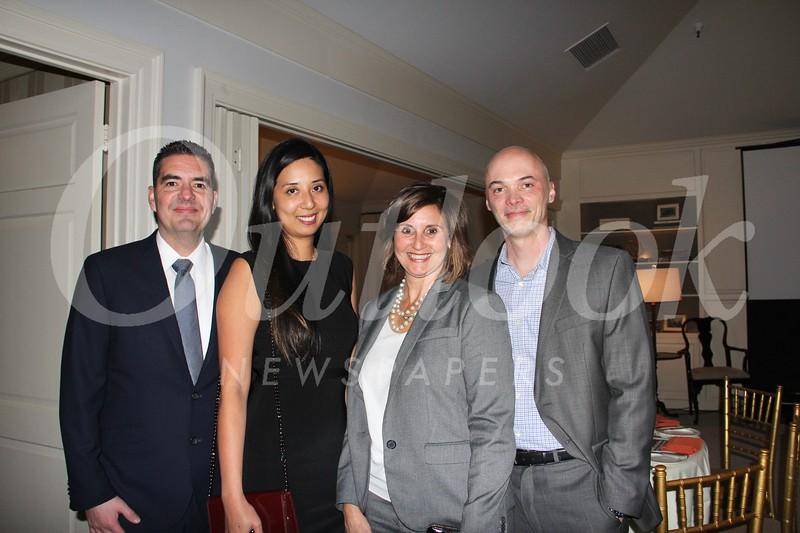 Armando and Tawny Nevarez with Tammy and Bill Sullivan