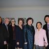 Danese Bardot, Jon Fuhrman, Dr. Susan Kane, Susan Jakubowski, HMRI President Dr. Julia Bradsher, Dr. Xianghong Arakaki and her husband, Eric