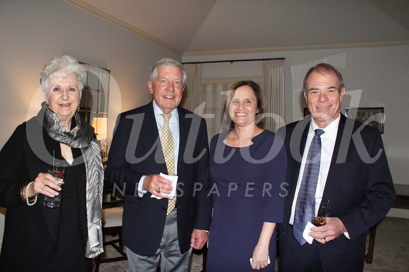 Linda Salinas, HMRI board chair Jim Gamb, and Susie and Dan Berry