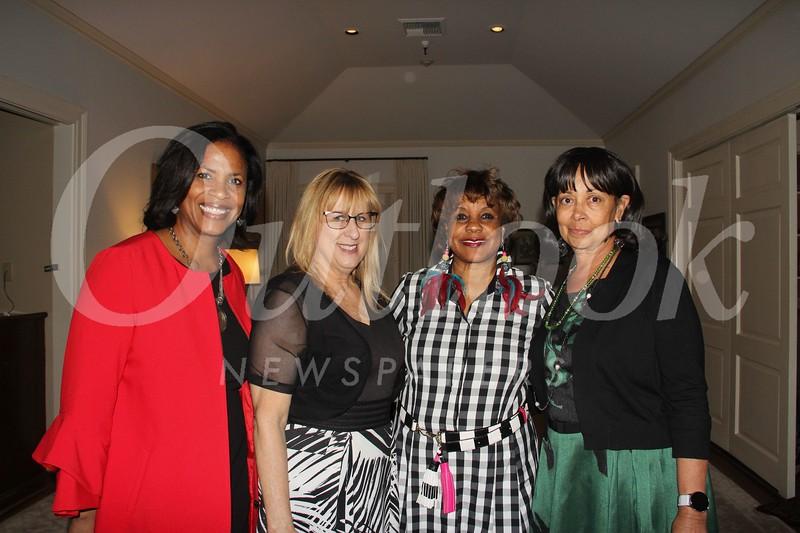 Audrey Schmedes, Susan Pankow, Jeané Ward and Carolyn Poullard