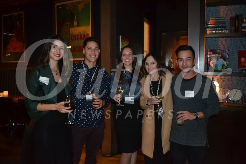 Jessica and Manuel Araujo, Sarah Moseley, Becca Craig and Brendon Cheng