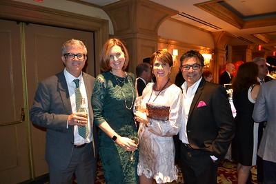 Mark and Kathy Trueblood with Christine and Steve Navarro