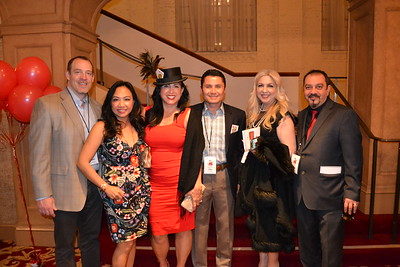 David Willingham and Khanh Le, Amber and Louis Serrano, and Stacy and Raffi Petrossian