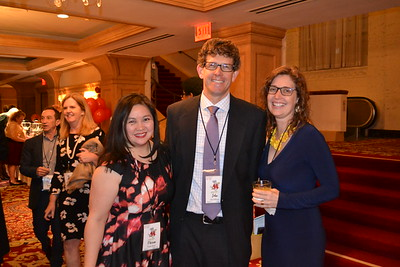 Therese Bagsit, John Pettersson and Jill Flinders