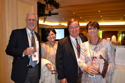 Bill and Sherry Knauf, Bob Huston and Christine Navarro