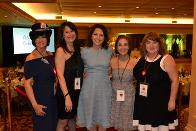 Mad Hatter Gala Committee: Deena Willis, Brigitta Carlsson, Lisa Coontz, Annie Rosenberger and Michelle Escobar