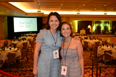 Made Hatter Gala co-chairs Lisa Coontz and Annie Rosenberger