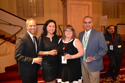 Eric and Gina Galang with Michelle and Hernan Escobar